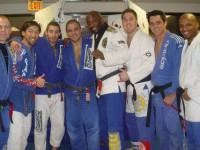 Training at team Lloyd Irvin