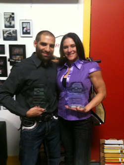 Zingano couple receive award
