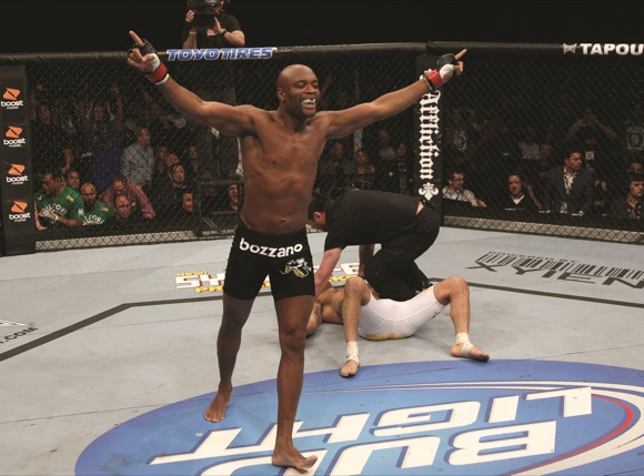 Dana needs to wait 5 fights (or 4 years) to confirm Anderson's the best