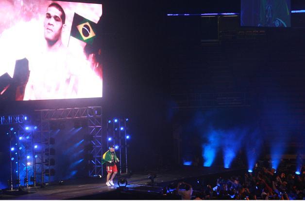 Pezão entra para a luta: Foto: Carlos Ozório.