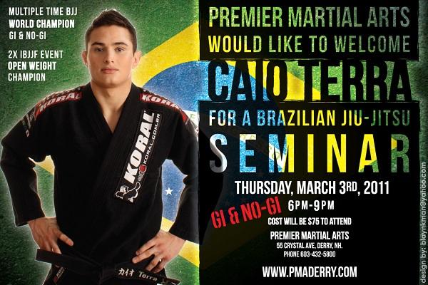 Caio Terra seminar schedule