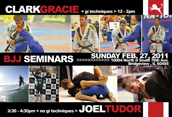 Clark Gracie and Joel Tudor team up for seminar