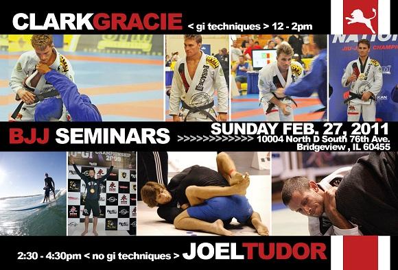 Clark Gracie and Joel Tudor team up for seminar