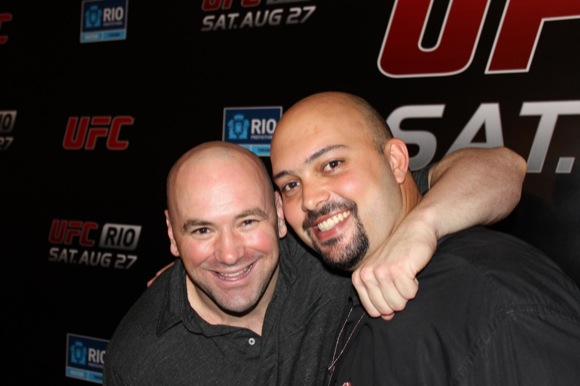Dana White puts up with so much…
