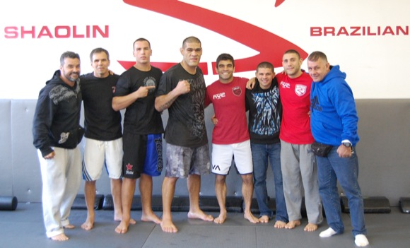 Strikeforce: Big Foot brushes up grappling with Shaolin and Co.