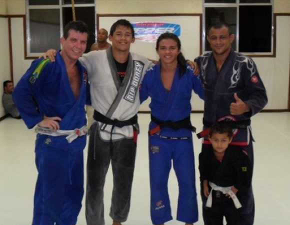 There's a new black belt at Nova União