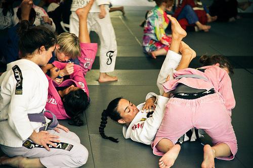 Um tributo ao Jiu-Jitsu feminino