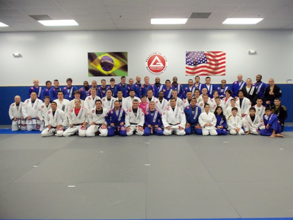 Houston Open: Gracie Barra celebrates title with sterling seminar