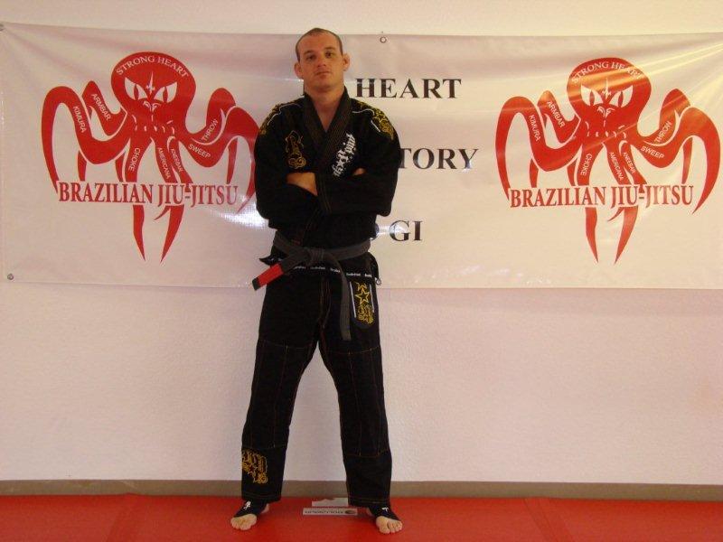 Black belt Mike Martin