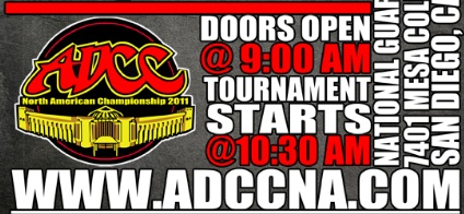 Last chance to try for spot at 2011 ADCC World Championships in San Diego