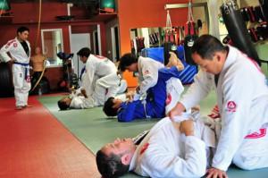 Karate with Jiu-Jitsu at next King of the Cage