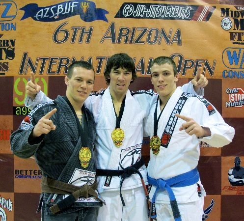 The Beauregard brothers train family Jiu-Jitsu