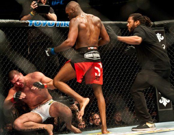 UFC 128 exclusivo: as imagens de Dan Rod à beira da jaula