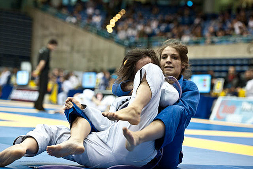 Purple belt winners in Irvine