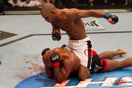 Super Mario and decisive UFC fight