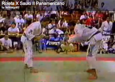Roleta x Saulo no Jiu-Jitsu