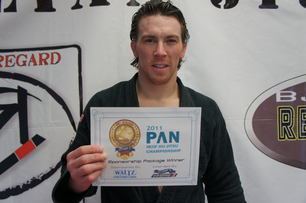 Ryan Beauregard wins Arizona Open Pan-sponsorship raffle