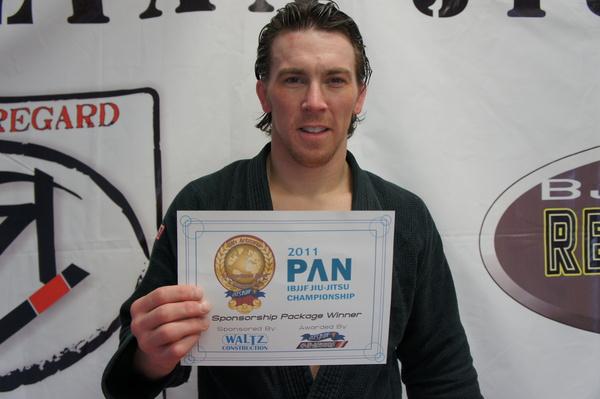 Ryan Beauregard wins Arizona Open Pan-sponsorship raffle