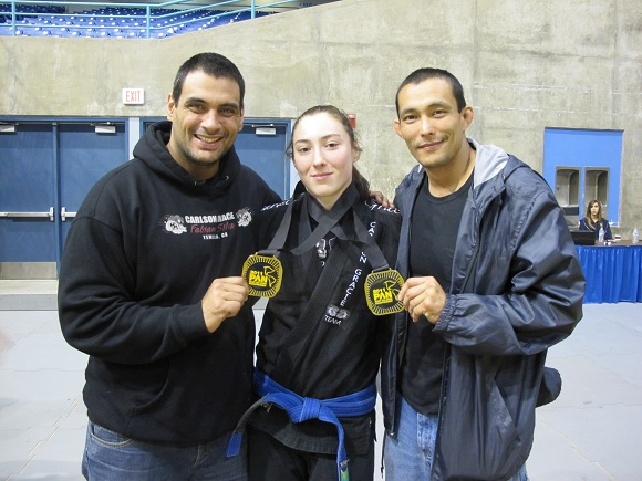 Blue belts give their all at the Pan
