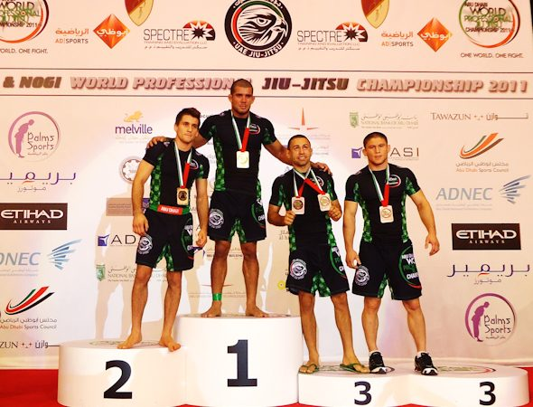 No-Gi champions defined in Abu Dhabi