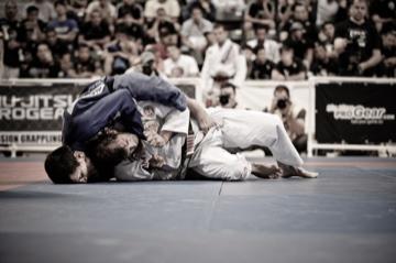 As primeiras lições no Jiu-Jitsu