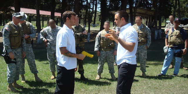 """Jiu-Jitsu indispensable to the Army"""