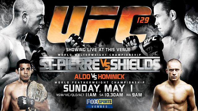 UFC 129: Aldo and GSP win, Lyoto knocks out Couture