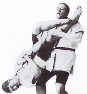 How about this flying armbar?