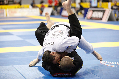 The gold-medal wristlock at the Pan