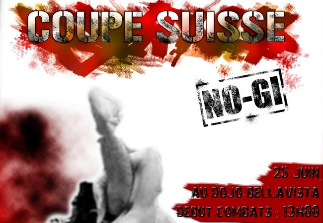 Coupe Suisse No-Gi in June