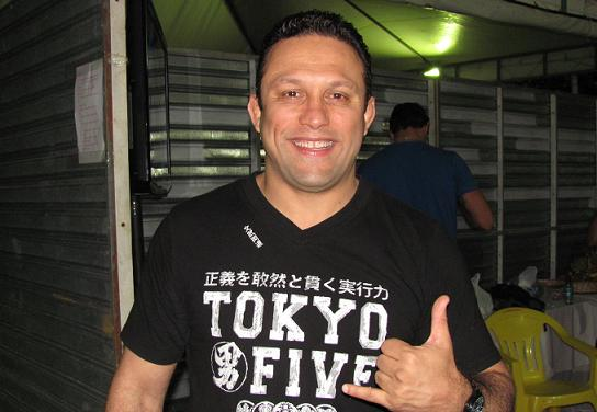 Renzo em foto de Junior Samurai.