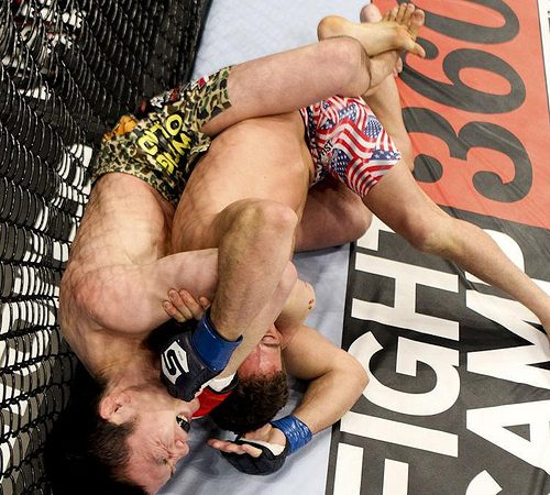 Watch Aoki's first Strikeforce submission