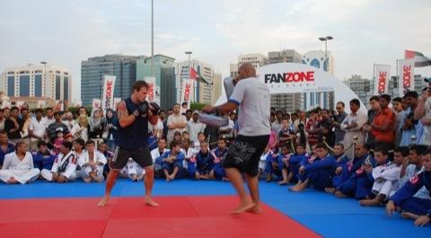Abu Dhabi starts breathing MMA