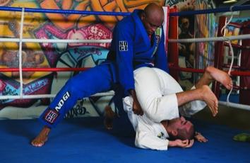 Jiu-Jitsu class with Professor Anderson