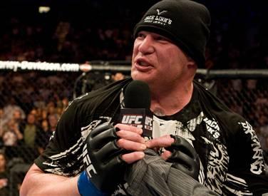A humbler Brock Lesnar