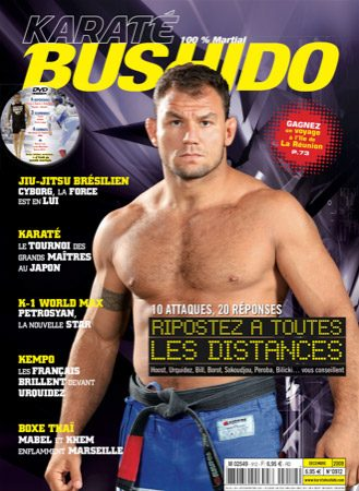Cyborg makes cover in France