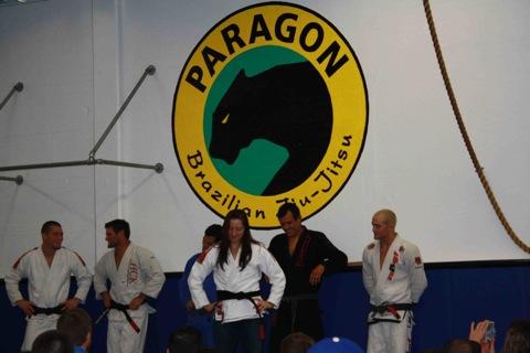 Franjinha celebrates with Paragon dynamos