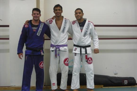 Cachorrinho seminar and Kayron competing heat up Panamanian Jiu-Jitsu