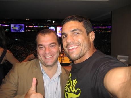 Fabiano Farah and Belfort. Photo: Vitor Belfort's Blog