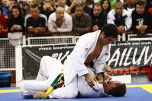 Kron Gracie against Pedro Bessa in semifinal of 2009 European. Photo: Foto:Diogo Valença