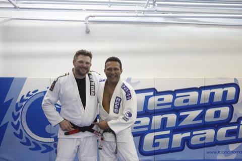 Exclusive: TUF champion earns black belt