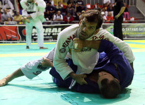 Megaton in action at Rio Open in July. Photo: Gabriel Menezes