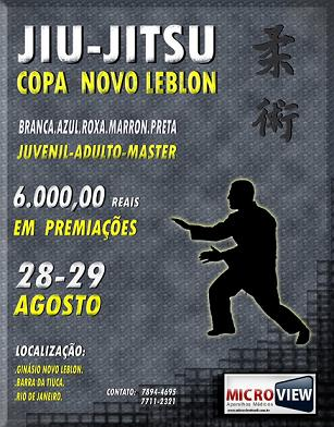 Copa Novo Leblon with 6k in prize money