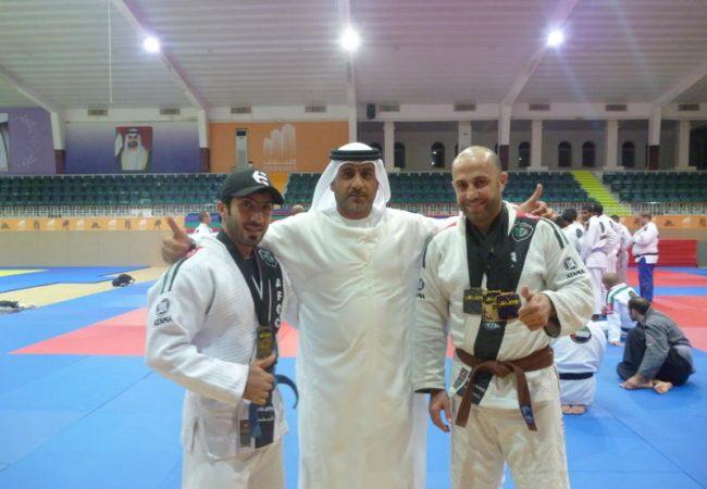 Abu Dhabi: European champions in Jiu-Jitsu mood