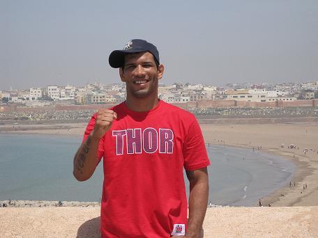 Bernardo represents Jiu-Jitsu among big names of sport
