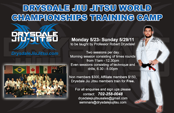 Train for the Worlds with Drysdale