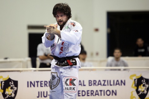Tarsis está no Brasileiro de Jiu-Jitsu.  Foto: Arquivos Graciemag