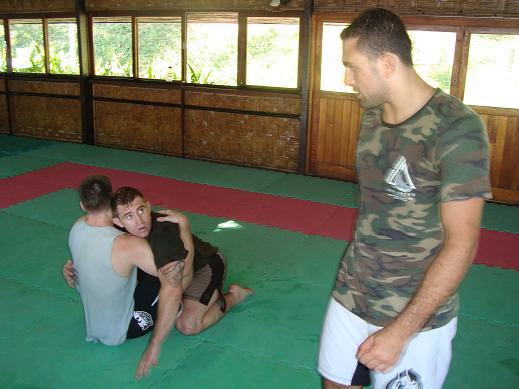 Alan Belcher brushing up Jiu-Jitsu for Maia fight in Brazil