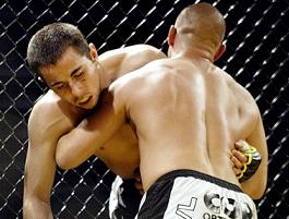 MMA win in the name of the father