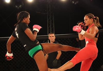 Carina Damm faces undefeated opponent at Jungle Fight